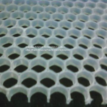 uniform PP honeycomb core for water disfusser in medical equipment