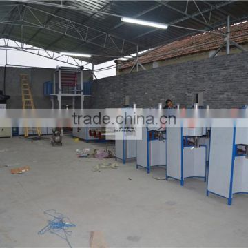 Plastic Tearing Production Making Extruder Split Film Machine