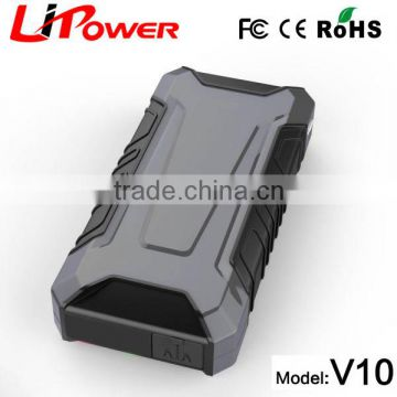 12000mah emergency portable car battery jump starter for usa market