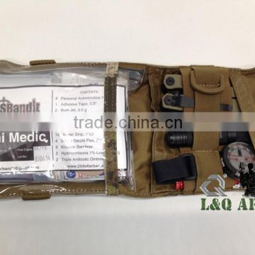 Military First Aid Kit Tactical Mini Kit Bag MK-7 A-TACS AU