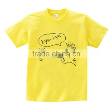 Unisex Shirts funny Human motif Casual Simple multi color Short Sleeve Tees