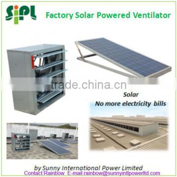 Vent tool Good Price Solar Energy Powered Industrial Commercial Ventilator Fan wall mounted exhaust fan