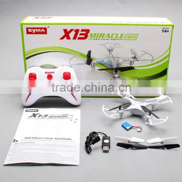 Mini Storm drone syma X13 Miracle 2.4G 4CH 6-Axis RC Quadcopter With 3D Flips