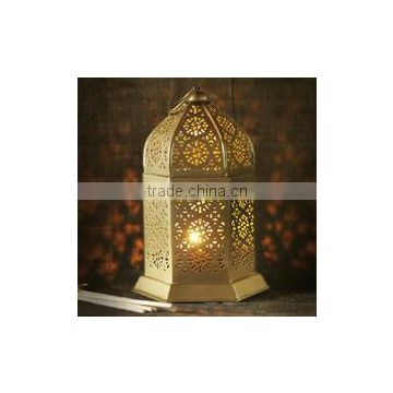 Fashion floor standing antique metal Moroccon lantern, Indian floor standing lantern
