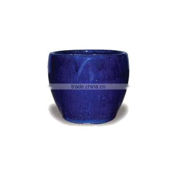Simple Ceramic Bowl, Dark Blue