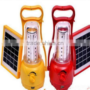 rechargeable solar powered Camping lamp solar powered portable lamp