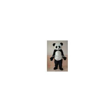 Fancy Dress Mascot Costume Character Plush Panda Fursuit Free Shipping