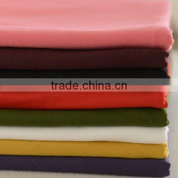 Latest modern T-shirt fabric 95% polyester 5% spandex fabric for Children