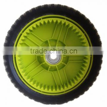 8 inch lawn mower plastic wheel for garden cart, trolley, hand truck                                                                         Quality Choice