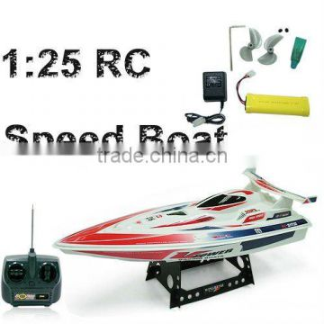 RC Speed boat 1:25 high speed boat RC big boat