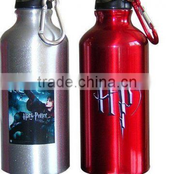 500ml stainless steel travel bottle with climbing buckle