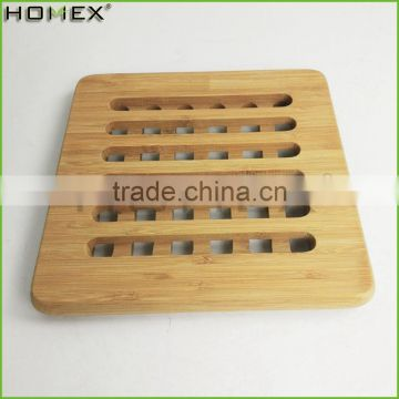 Bamboo Heat Insulation Pad for Table Dish Pan Pot Homex BSCI/Factory