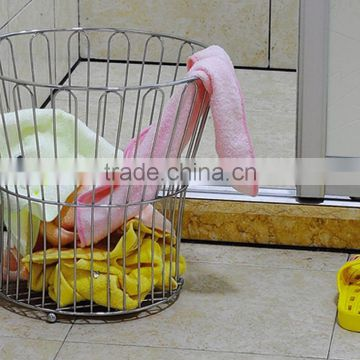 New arrival creative metal towel basket