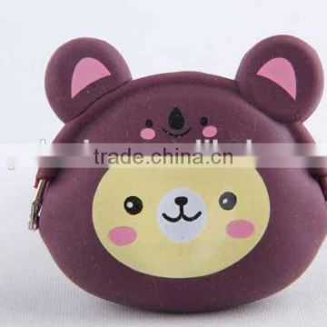 Bear Design Coin Purse/Silicone Purse