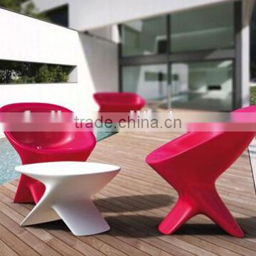 Rotomolding Products OEM factory/PE plastic outdoor furniture/mordern design chair