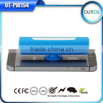 new portable charger power bank cellphone portable usb sucker power bank 2200 mah for htc