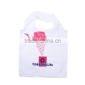 Ice Cream Shape Cheap Promotional Polyester Foldable bag(GR-PPPL420)