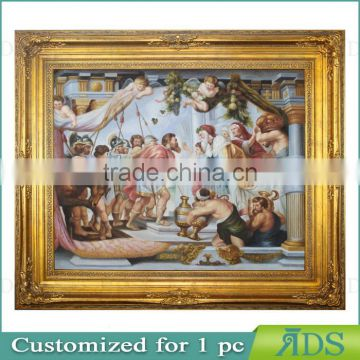 Baroque Wooden Photo Frame for Canvas Oil Paintings