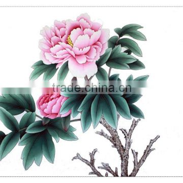 Ancient Painting for Peony Bai Jiao of Great Fortunes