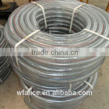 wholesale Large Diameter PVC Spring Steel Wire Hose Pipe