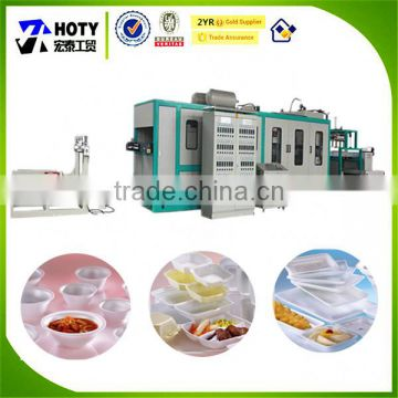 PS foaming food tray/box making machine