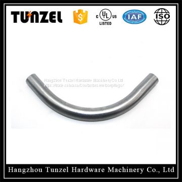 china product price list 90 degree elbow emt bend pipe by zhejiang small factory