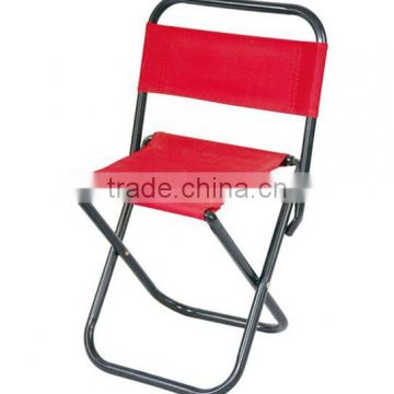 Metal frame different colors folding garden chair