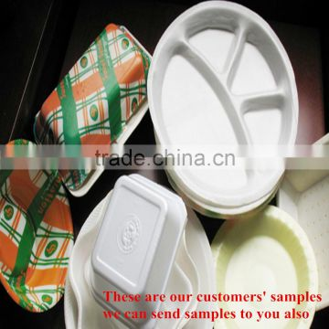 High quality take away food box making machine