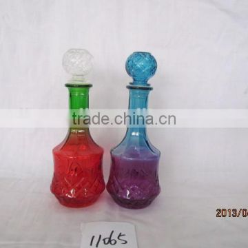 custom U &amp V single glass wine decanter with high quality