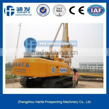 HF856A efficiency rotary drilling rig rotary with ISO & CE certification engineers oversea service ok