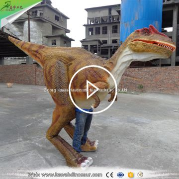 Zigong factory Realistic Dinosaur Suit for Sale