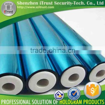 Hot sell factory high quality Silver Golden Red Blue Transparent hot stamping foil rolls