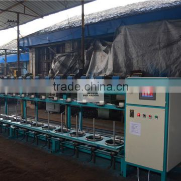 High Speed Warping Machine Two Spin Yarn Wire Ring Twister