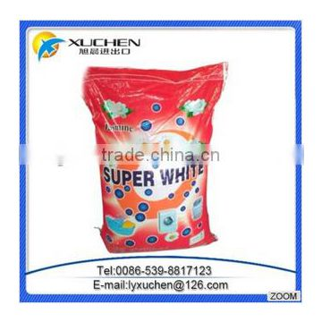Washing Detergent powder use for clothes with plastic woven bag