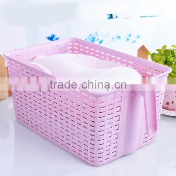 kithen and bathroom plastic storage box with handle