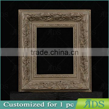 Embossed Picture Frame 20x25cm size wooden oil painting frame
