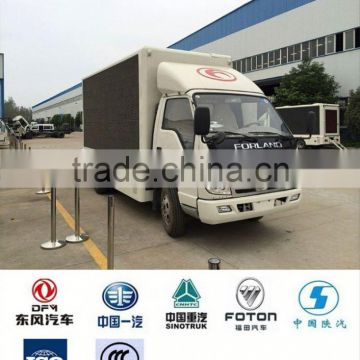 LED truck factory, foton led mobile truck for sale