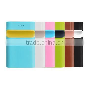 Practical holder design portable mobile 12000mah power bank