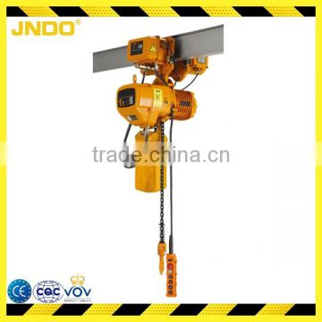 Waterproof 500kg electric chain hoist used for construction buliding