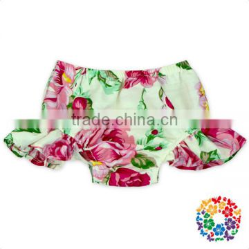 Infant Ruffle Tutu Bloomer Children Swing Bloomers Floral Diaper Cover