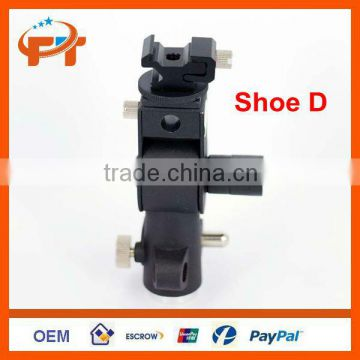 Bracket Flash Shoe Umbrella Holder Swivel Light Stand D