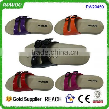 Patent PU Lovely Newest Girl Sandal Shoes Beach Slipper Shoes Women Sandals
