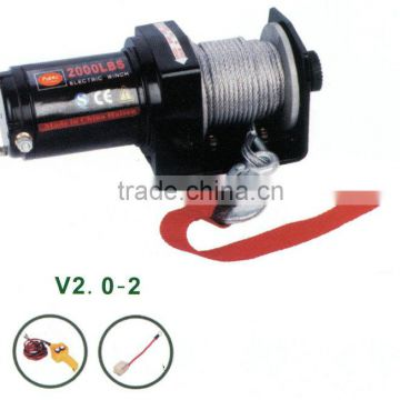 2000lbs electric winch | Auto winch | ATV | UTV winch