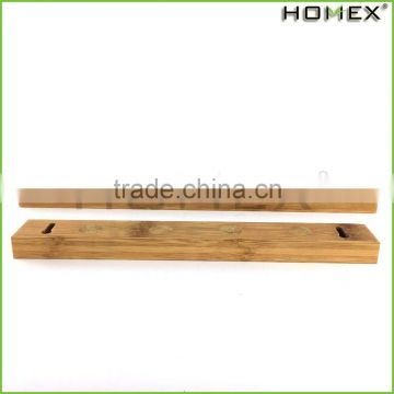 Bamboo simple magnetic knife holder for kitchen Homex BSCI/Factory