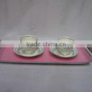 High Quality Aluminum Tray With Handles,Designer Metal Trays,Serving Trays