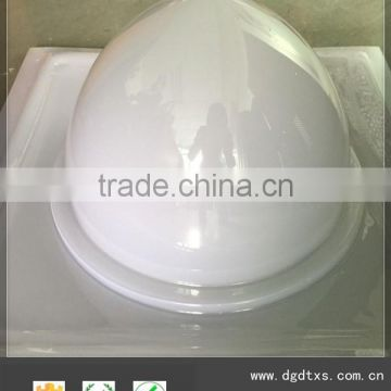 OEM design Acrylic Difuser Dome lampshade