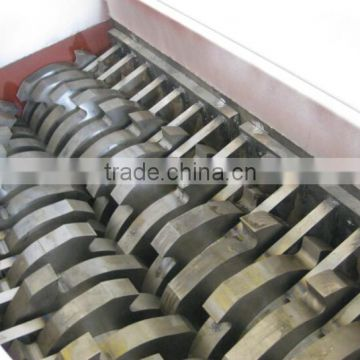 Plastic shredder and crusher / plastic shredder machine / double shaft shredder