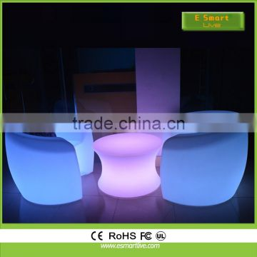 night club lighting illuminated led table