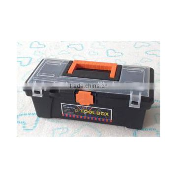 "19"" plastic tool box roller cabinet with handle for carring"