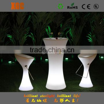 illuminated outdoor furniture , glowing party furniture supplier GF311